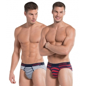 Jockey Red,blue Brief Pack Of 2