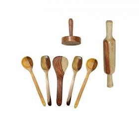 Desi Karigar Wooden Skimmers Set