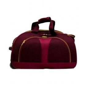 Jumera Red Solid Duffle Bag