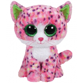 Pink & White Sophie Cat Soft Toy For Kids