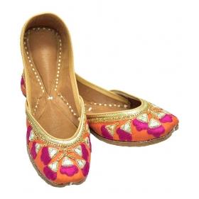 Multi Color Ethnic Footwear