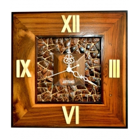 Just Frames Square Analog Wall Clock Jf 202 20 - Pack Of 1