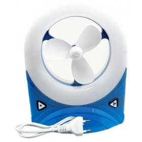 Jy Super 230 Jy Super 5560 Fan With Led Light Tablefan Multi Color