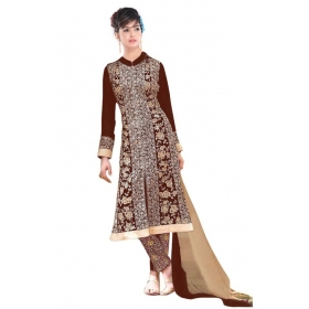 Replica Super Seller Georgette Semistitched Dress Material