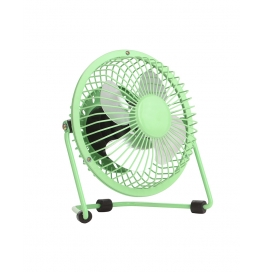 Usb Fan Mini Portable Desktop Cooling Desk Quiet Fan For Computer Laptop Pc-green
