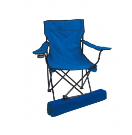 Folding Camping Chair Portable Fishing Beach Outdoor Collapsible Chairs-blue