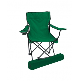 Folding Camping Chair Portable Fishing Beach Outdoor Collapsible Chairs-green