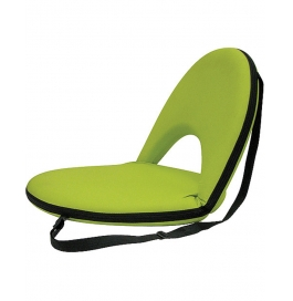 Portable Reclining Yoga Chair With 6 Adjustable Positions And Shoulder Strap - Green