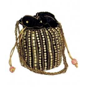 Black Silk Potli