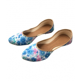 Shop Multi Color Flat Ethnic Footwear