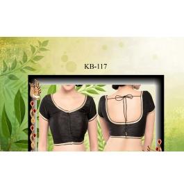Kala Boutique Creation  Bluose Material Black