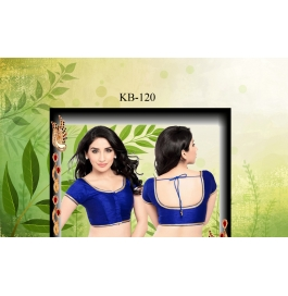 Kala Boutique Creation  Bluose Material Blue