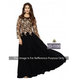 Sas Creations Fab Rad Silk Black Gown
