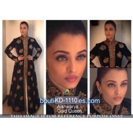 Sas Creations Fab Silk Black Gown
