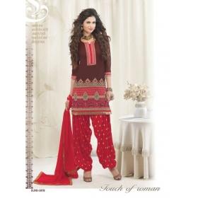 Design No. 1070 / Patiyala House Vol 20 / Kessi Fabrics Pvt. Ltd.