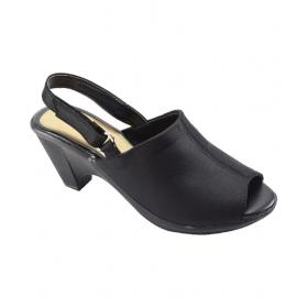 Black Cone Heels