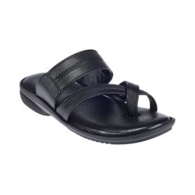 Khadim's Black Sandals