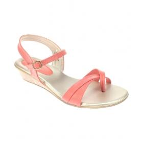 Pink Wedges Heels
