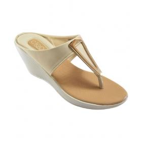White Wedges Heels