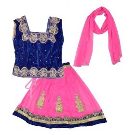 Pink Lehenga Choli Set