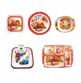 Recon 9 Pieces Kids Dinner Set Combo