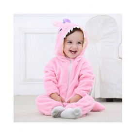 New Fashion Spring Autumn Baby Clothes Flannel Catoon Animal Jumpsuit