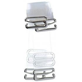 Kavjay Sequin Bra Straps(transparent/nude, Pack Of 3)