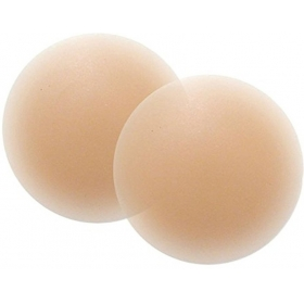 Kavjay Silicone Peel And Stick Bra Petals(beige Pack Of 2)