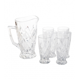 Glass Juice Drink Set