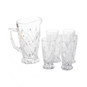 Glass Juice Drink Set