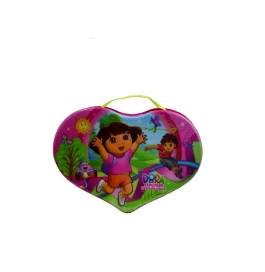 Hard Shape for kids bag  in this very comfortable – Pvc Bag- one zip size,L-20cm waterproof