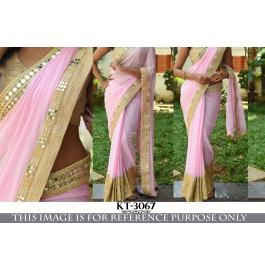 Latest Designer Partywear Saree By Sas Creations