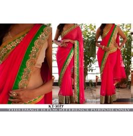Traditional Party Wear Designer Saree