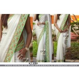Indian Pretty Designer Saree