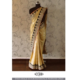 Ethnic Part Wear Saree With Blouse Piece