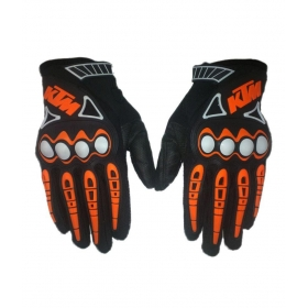 Ktm Full Racing Biking Motorcycle Gloves