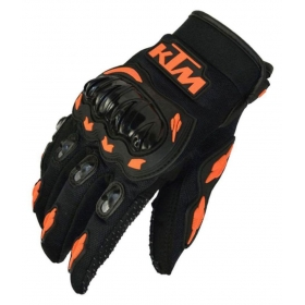 Moto Biker Black Hand Gloves For Riding - Pair Of 1