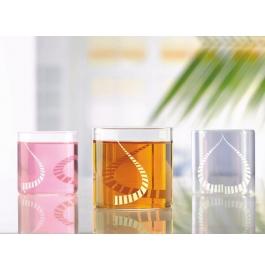 Borosil Vision Glass White Kurl Small - 205 Ml