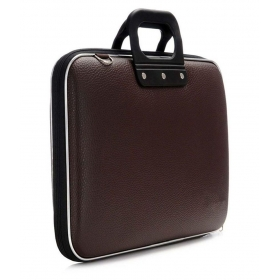 La Corsa Brown Leather Briefcase