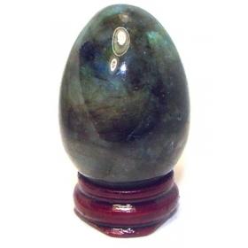 Labradorite Egg Crystal Natural Stone Good Quality Healing Reiki Aura Yoni