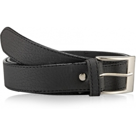 Men Casual Formal Black Synthetic Belt
