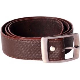 Men Casual Black Artificial Leather Belt