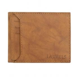 Laurels Leather Beige Casual Regular Wallet