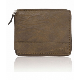 Laurels Leather Brown Casual Regular Wallet
