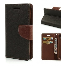 Lenovo A6600 Flip Cover By Trap - Brown