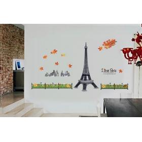 3d Mj9503 Aiffel Tower  3d Wall Sticker  Jaamso Royals