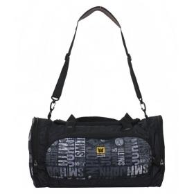 Liviya Black Printed Duffle Bag