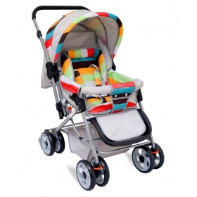 The Colorful Pram - Stroller From R For Rabbit