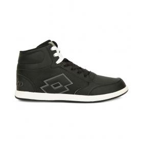 Lotto Logo-plus-hi-black Black Basketball Shoes