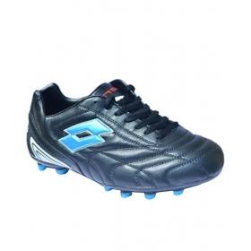 Lotto Stadio Black Football Shoes